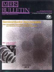MRS Bulletin Volume 20 - Issue 8 -