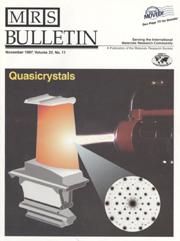 MRS Bulletin Volume 22 - Issue 11 -