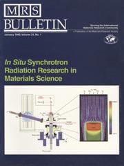 MRS Bulletin Volume 24 - Issue 1 -