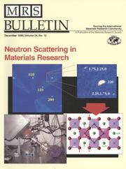 MRS Bulletin Volume 24 - Issue 12 -