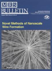 MRS Bulletin Volume 24 - Issue 8 -