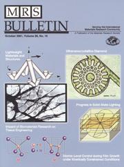 MRS Bulletin Volume 26 - Issue 10 -