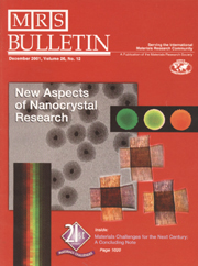 MRS Bulletin Volume 26 - Issue 12 -  New Aspects in Nanocrystal Research