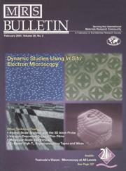 MRS Bulletin Volume 26 - Issue 2 -