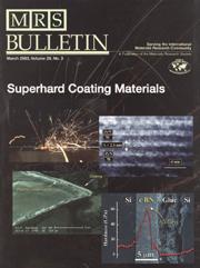MRS Bulletin Volume 28 - Issue 3 -  Superhard Coating Materials