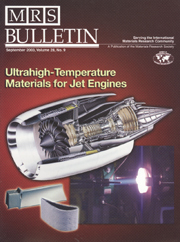 MRS Bulletin Volume 28 - Issue 9 -  Ultrahigh-Temperature Materials for Jet Engines