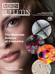 MRS Bulletin Volume 32 - Issue 10 -  The Materials Science of Cosmetics