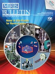 MRS Bulletin Volume 32 - Issue 12 -  Novel In Situ Probes for Nanocatalysis