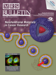 MRS Bulletin Volume 34 - Issue 6 -  Nanofunctional Materials in Cancer Research