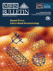 MRS Bulletin Volume 35 - Issue 4 -  Beyond Silicon: Carbon-Based Nanotechnology