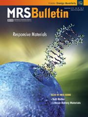 MRS Bulletin Volume 35 - Issue 9 -  Responsive materials