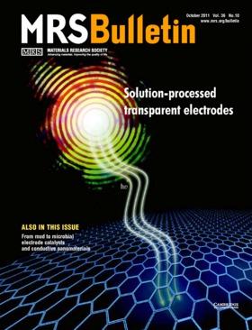 MRS Bulletin Volume 36 - Issue 10 -  Solution-processed transparent electrodes
