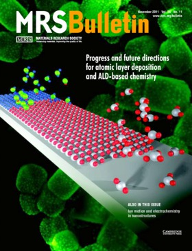 MRS Bulletin Volume 36 - Issue 11 -  Progress and future directions for atomic layer deposition and ALD-based chemistry
