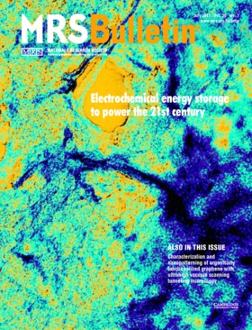 MRS Bulletin Volume 36 - Issue 7 -  Electrochemical energy storage to power the 21st century
