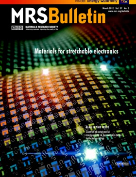 MRS Bulletin Volume 37 - Issue 3 -  Materials for stretchable electronics