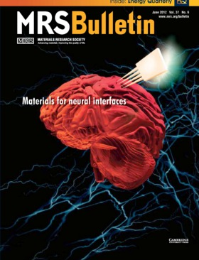 MRS Bulletin Volume 37 - Issue 6 -  Materials for neural interfaces