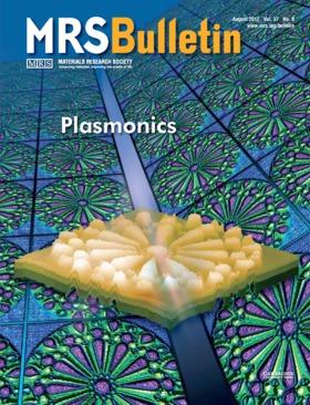 MRS Bulletin Volume 37 - Issue 8 -  Plasmonics