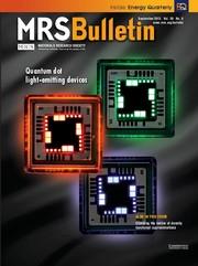 MRS Bulletin Volume 38 - Issue 9 -  Quantum dot light-emitting devices