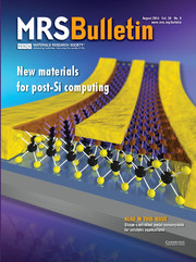 MRS Bulletin Volume 39 - Issue 8 -  New Materials for Post-Si Computing