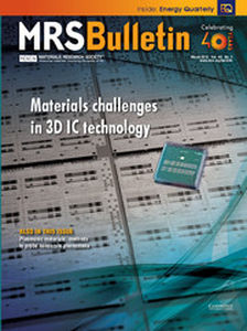 MRS Bulletin Volume 40 - Issue 3 -  Materials challenges in 3D IC technology