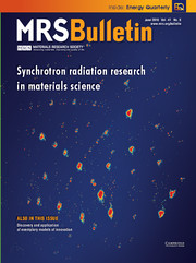MRS Bulletin Volume 41 - Issue 6 -  Synchrotron Radiation Research in Materials Science