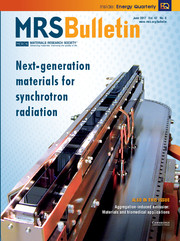 MRS Bulletin Volume 42 - Issue 6 -  Next-Generation Materials for Synchrotron Radiation