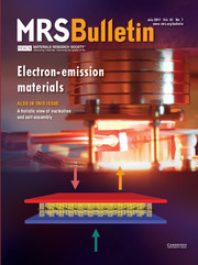 MRS Bulletin Volume 42 - Issue 7 -  Electron-Emission Materials