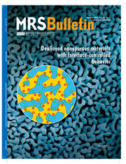 MRS Bulletin Volume 43 - Issue 1 -  Dealloyed Nanoporous Materials with Interface-Controlled Behavior
