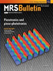MRS Bulletin Volume 43 - Issue 12 -  Piezotronics and Piezo-Phototronics