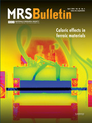MRS Bulletin Volume 43 - Issue 4 -  Caloric Effects in Ferroic Materials