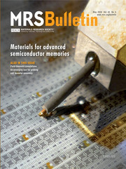 MRS Bulletin Volume 43 - Issue 5 -  Materials for Advanced Semiconductor Memories