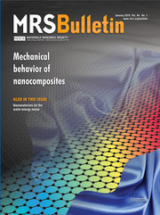 MRS Bulletin Volume 44 - Issue 1 -  Mechanical Behavior of Nanocomposites