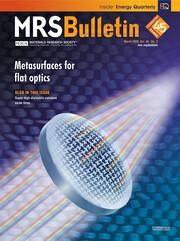 MRS Bulletin Volume 45 - Issue 3 -  Metasurfaces for Flat Optics