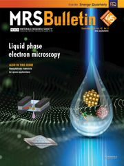 MRS Bulletin Volume 45 - Issue 9 -  Liquid Phase Electron Microscopy