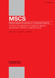Mathematical Structures in Computer Science Volume 20 - Issue 2 -  Domains
