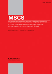 Mathematical Structures in Computer Science Volume 20 - Issue 6 -  Quantum Algorithms