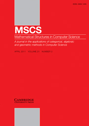 Mathematical Structures in Computer Science Volume 21 - Issue 2 -  Coalgebraic Logic