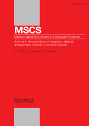 Mathematical Structures in Computer Science Volume 22 - Issue 5 -  Computability of the Physical