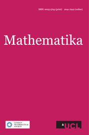 Mathematika Volume 58 - Issue 2 -