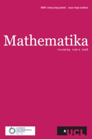Mathematika Volume 64 - Issue 2 -