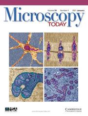 Microscopy Today Volume 29 - Issue 1 -