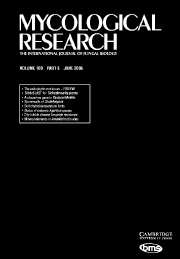 Mycological Research Volume 109 - Issue 6 -