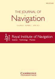 The Journal of Navigation Volume 65 - Issue 2 -