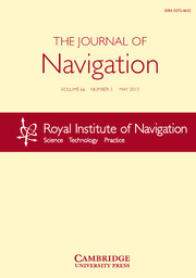 The Journal of Navigation Volume 66 - Issue 3 -