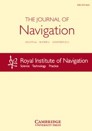 The Journal of Navigation Volume 66 - Issue 6 -