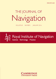 The Journal of Navigation Volume 69 - Issue 1 -