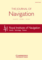 The Journal of Navigation Volume 70 - Issue 3 -