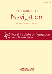 The Journal of Navigation Volume 71 - Issue 3 -