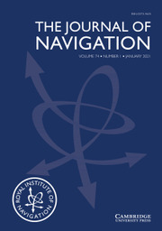 The Journal of Navigation Volume 74 - Issue 1 -