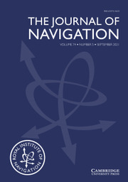 The Journal of Navigation Volume 74 - Issue 5 -